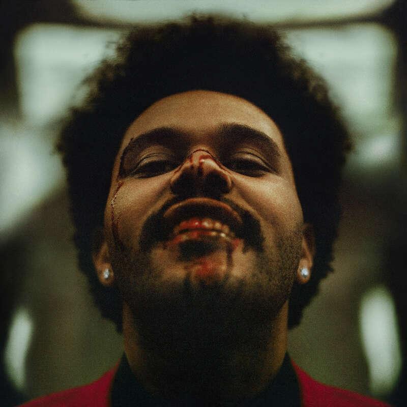 okładka płyty The Weeknd After Hours
